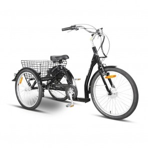 Progear E-Free Electric Trike Black with Walk Mode