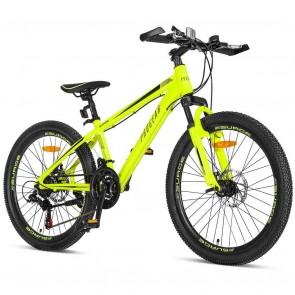 Progear Surge Mountain Bike Fluro Yellow