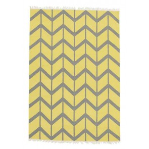 Provincial Lane Carnac Yellow by Rug Culture