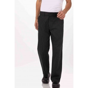 Professional Pin Stripe Chef Pants by Chef Works