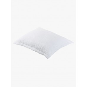 Aspen Quilted European Pillowcases by Linen and Moore