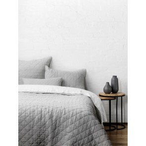 Soho European Pillowcases by Linen and Moore