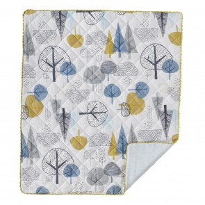 In The Woods Quilted Cot Comforter by Lolli Living