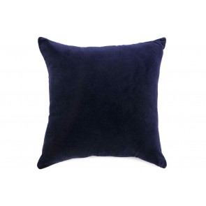 Navy Blue Velvet Sea Shell Cushion by Alexander Santorini