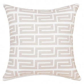 Rapee Greek Key Cushion