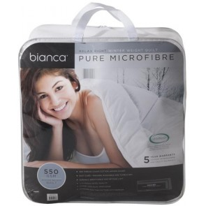 Bianca Relax Right 550GSM King Winter Weight Quilt