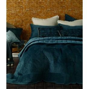 Remy Bedspread Set Indigo by MM Linen