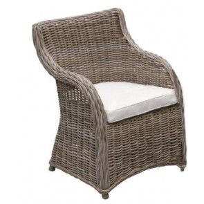 Roma Rattan 3-Piece Outdoor Setting by Channel Enterprises