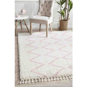 Saffron 11 Pink By Rug Culture