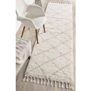 Saffron 22 Pink Runner By Rug Culture