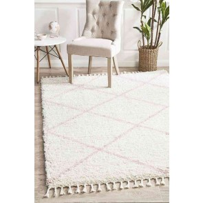 Saffron 22 Pink By Rug Culture