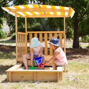 Lifespan Kids Jack Sandpit with Canopy on Wheels
