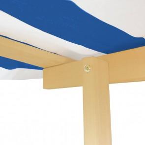 Lifespan Kids Playfort Sandpit with Blue Canopy
