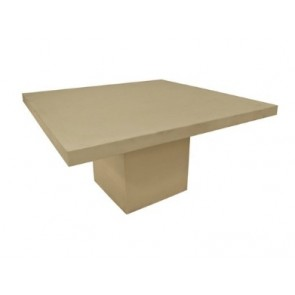 Moderno Cement Square Table by Channel Enterprises