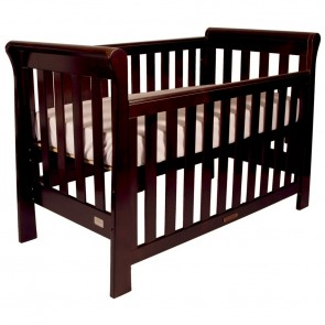 Babyhood Sandton Sleigh 4 In 1 Cot English Oak