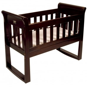Babyhood Sandton Sleigh Cradle & Rocking Seat