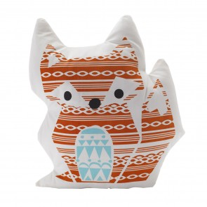 Woods Fox Character Cushion by Lolli Living