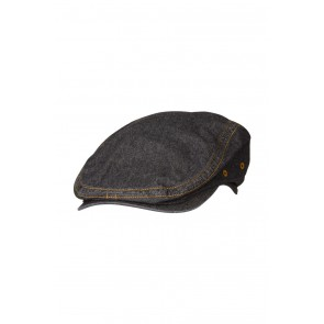 Manhattan Denim Black Driver Cap by Chef Works