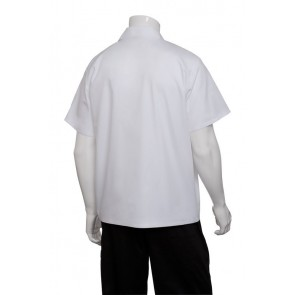 White Utility Shirt by Chef Works