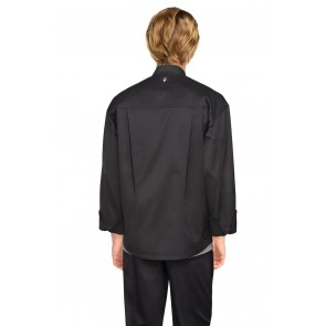 Amalfi Black Signature Chef Jacket by Chef Works