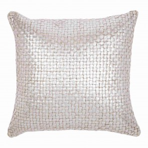 Silver Plaited Kav Cushion