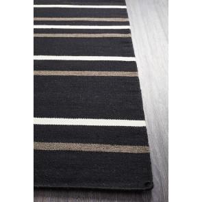 Skandi 306 Black Rug by Rug Culture