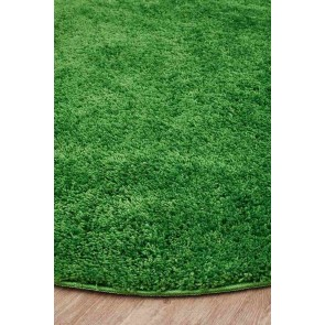 Soho Lime Round by Rug Culture