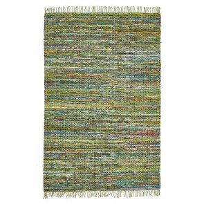 Spirt Bohemain Green by Rug Culture