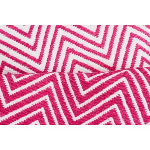 Spirit Chevron Pink Rug by Rug Culture