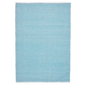 Spirt Chevron Turquoise by Rug Culture