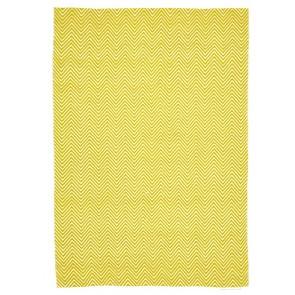 Spirt Chevron Yellow by Rug Culture