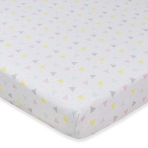 Sprinkles Jersey Fitted Sheet by Lolli Living
