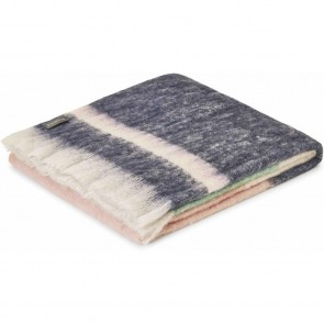 Poppy Mohair Throw Rug by St Albans
