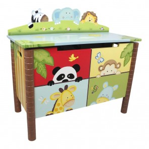 Teamson Sunny safari Toy Box
