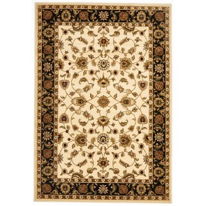 Sydney 1 Ivory Black by Rug Culture