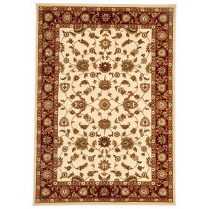 Sydney 1 Ivory Red by Rug Culture