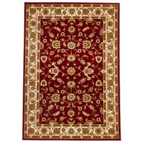 Sydney 1 Red Ivory by Rug Culture