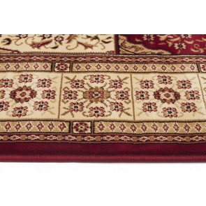 Sydney 4 Red Ivory Rug by Rug Culture
