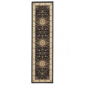 Sydney 9 Navy Ivory Rug by Rug Culture