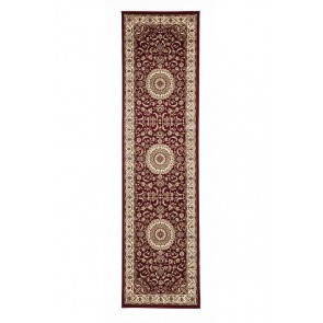 Sydney 9 Red Ivory Rug by Rug Culture