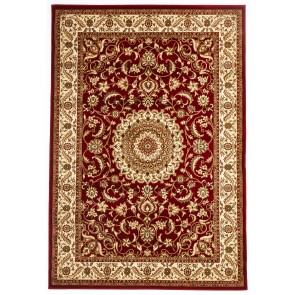 Sydney 9 Red Ivory by Rug Culture Runner