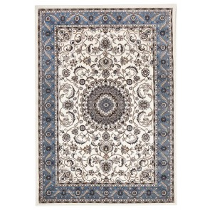 Sydney 9 White Blue by Rug Culture
