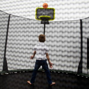 Plum Play Trampoline Basketball Kit