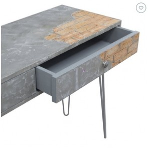 Brikcon Console Table by Channel Enterprises