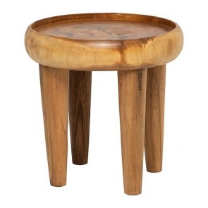 Tallow Small Wood Side Table by Alexander Santorini