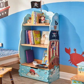 Teamson Pirate Island Bookcase
