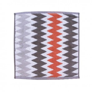 LM Home Terracotta Herringbone Towel