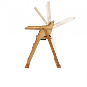 Babyhood Timber Folding High Chair