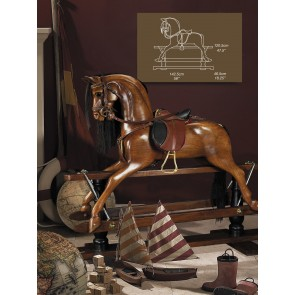 Timber Rocking Horse by AM Living