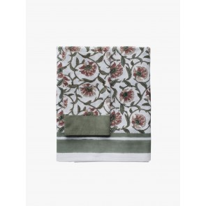 Linen and Moore Fleur Table Cloth